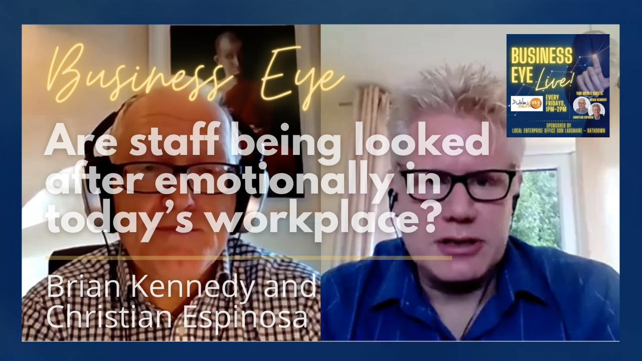 Are staff being looked after emotionally in today's workplace?